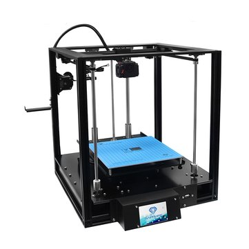 Two Trees® SAPPHIRE-S Corexy Structure Aluminium DIY 3D Printer 200*200*200mm Printing Size With Lerdge-X Mainboard/Auto-leveling/Power Resume Function/Off-line Print/3.5 inch Touch Color Screen