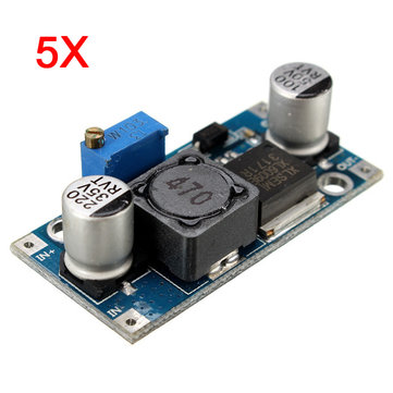 5Pcs 4A XL6009E1 Adjustable DC-DC Step Up Boost Converter Power Supply Module