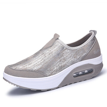 US Size 5-10 Women Sport Rocker Sole Shoes Outdoor Flats