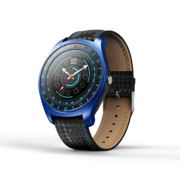 Bakeey V10hr 1.22inch GSM Call Heart Rate Sleep Monitor Pedometer Camera Smart Watch For IOS Android