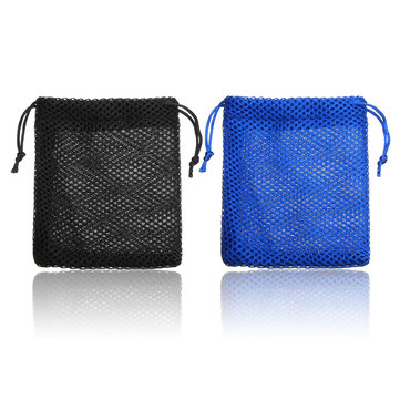 Magic Cube Puzzle Mesh Storage Bag Drawstring Gift Pouch Present 3x3x3 Cube