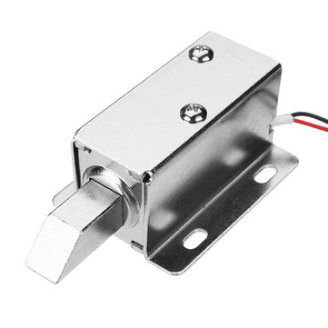 24V DC Electric Lock Assembly Solenoid Long Locking Tongue Cabinet Drawer Door Lock