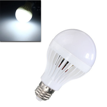 E27 8W 22 SMD 5730 Motion Sensor Lamp LED Bulb Sound Light Control Auto Smart Globe Bulb AC220V