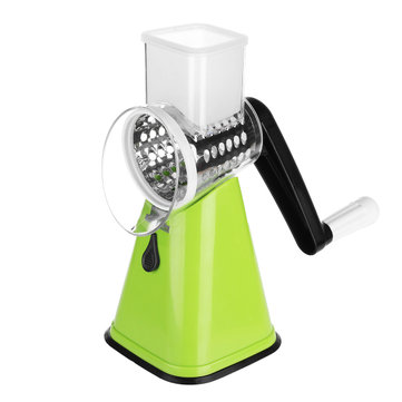Hand Crank Vegetable Fruit Slicer Potato Carrot Julienne Grater Cutter Cheese Cutter Tool