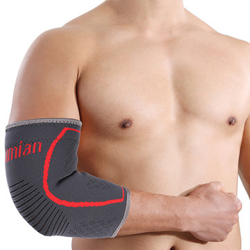 Mumian A29 Silica Gel Non-slip Design Sports Elbow Sleeve Brace - 1PC