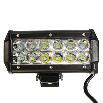 6.5Inch LED Work Light Bar Spot Beam 10-30V 36W White for Off Road Ute ATV UTE SUV