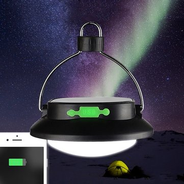 Solar Powered Portable 12 LED Camping Hiking Tent Light Rechargeable Emergency Outdoor Night Lamp