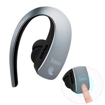 HOCO E10 Business Touch Control Noise-cancelling Light-weight Bluetooth Earphone Headphone with Mic