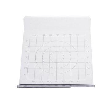 Clay plaque de presse en forme de U Outils d'argile bricolage Ultralight argile boue plaque échelle ronde carré