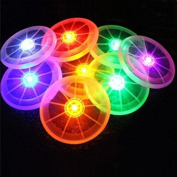Yani HP-PT9 LED Lights Frisbee Pet Flying Disc Flashflight Dog Sports Toy Pet Supplies