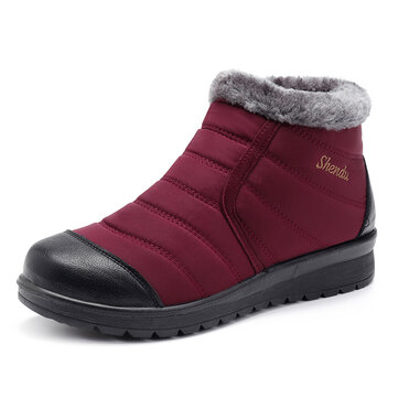 Waterproof Fur Keep Warm Winter Snow Boots For Women