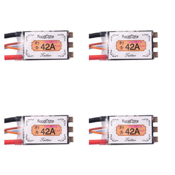 4XRacerstar Tattoo+ 42A BLheli_32 72MHz GD32F150 ESC Dshot1200 Ready Current Sensor LED Telemetry for RC Drone