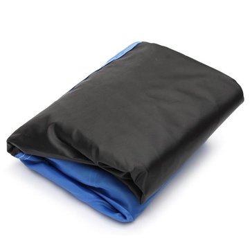 295×110x140cm 180T Polyester Fabric Motorcycle Rain Cover Waterproof UV Snow Dust 3XL
