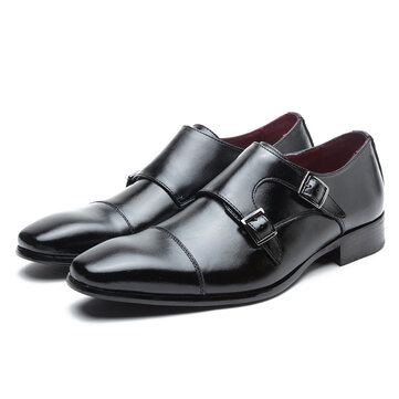 Men Soft Genuine Leather Oxfords