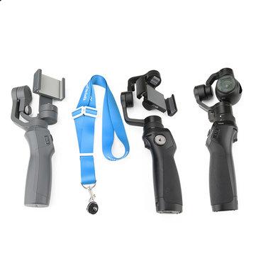 Handheld Gimbal Neck Strap Handheld Grip Lanyard Neck Strap w/ 1/4 Ball Screw for DJI OSMO+Mobile 2