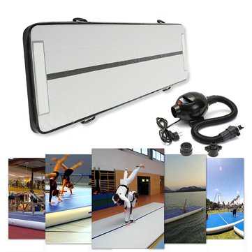 118x35x4inch Inflatable Air Tumbling Air Track Floor Home Gymnastics Tumbling Mat GYM