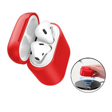 Baseus Qi Inalámbrico Receptor Caso protector a prueba de golpes a prueba de golpes para manzana AirPods