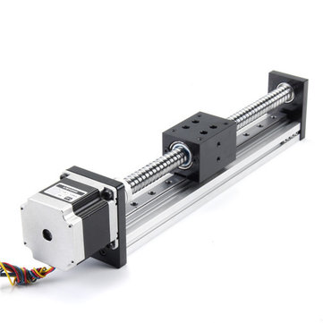 200mm Stroke Guide Rail Linear Actuator 1605 Ball Screw with 57mm Motor