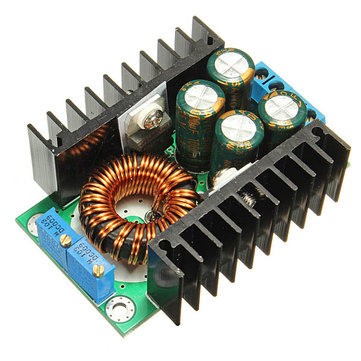 3Pcs 8A 24V to 12V Step Down LED Driver Adjustable Power Supply Module