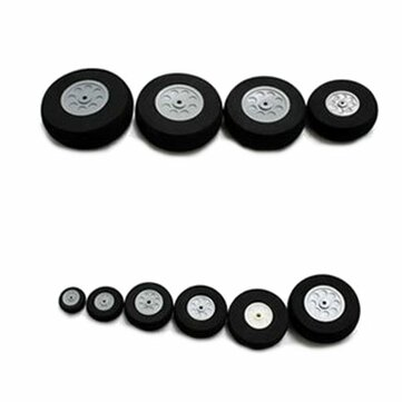 16mm 20mm 30mm 40mm 45mm 50mm 55mm Sponge Wheel For RC Airplane