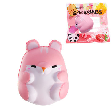 IKUURANI Squishy Hamster 9cm Slow Rising With Packaging Collection Gift Soft Toy