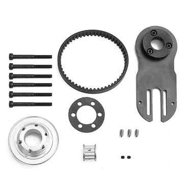 Pulleys And Motor Mount Kit For 83/90/97MM Wheels DIY Parts