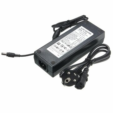5.5mm x 2.5mm AC 100-240V to DC 24V 6A Switching Power Supply Adapter Transformer