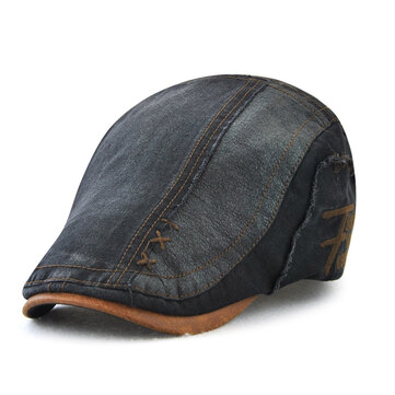Men Summer Outdoor Adjustable Cotton Beret Hat