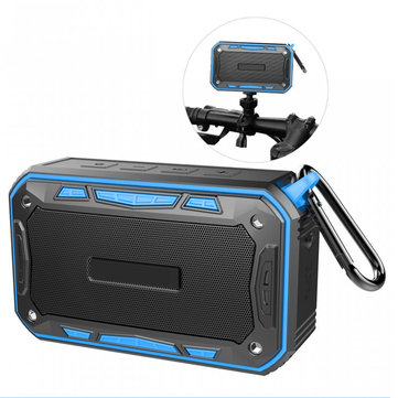 Portable Outdoor True Wireless Bluetooth Speaker IP67 Waterproof Shock Bass Couplet Music Headset