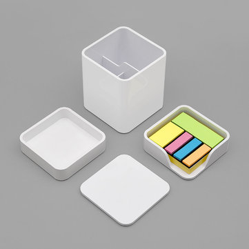 Xiaomi LEMO Desktop Organizer 3 in 1 ABS Plastic White Storage Box Card Pen
