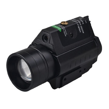 RichFire SF-P22 XPG-2 3 Modes 532nm Laser Zoomable Tactical Pistol Flashlight Outdoor Hunting Green Dot Sight Light