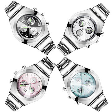 LONGBO 8399 30M Waterproof Alloy Luminous Fashion Casual Girls Student Wrist Watch