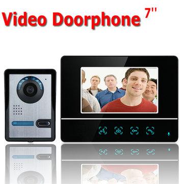 ENNIO SY811FA11 7 inch TFT Touch Screen Color Video Door Phone CMOS Night Vision Camera Intercom
