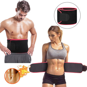 Sauna Suit Effect Adjustable Waist Trimmer Sweat Belt