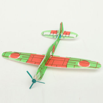 Foam Plastic Hand Throwing Flying Glider Small Planes Game Prizes Children Toys