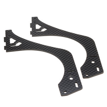 FIJON FJ9 1/10 Front Engine Design RC Car Parts 2.0mm Carbon Fiber D9-F17 F18