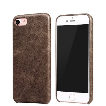 Bakeey ™ Retro Soft PU Leather Ultra Dunne Schokbestendige Case Cover voor iPhone 7/8 4,7 inch