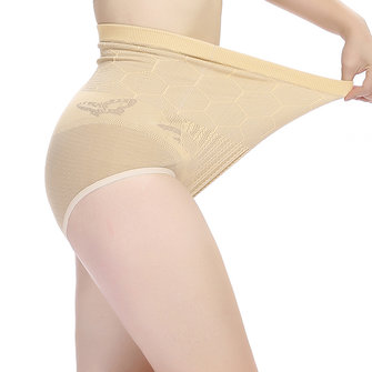 Women Seamless Breathable Panties High Elastic Pure Color Underwear