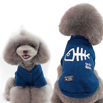 Pet Dog Soft Cotton Jacket Clothes Coat Good Warmth Fashion Classic Style Coat