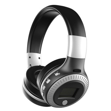 Zealot B19 Wireless Bluetooth Headphone LED Display FM Radio TF Card Noise Cancelling Stereo Headset
