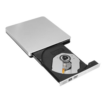 USB 2.0 External DVD CD-RW Drive Player Burner For Notebook PC Desktop Computer