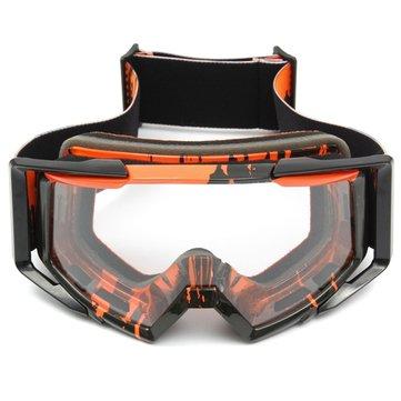 Мотокросс Шлем Прозрачный Очки Гонки Ветрозащитные очки для мотоцикл Off Road ATV Quad Dirt Bike