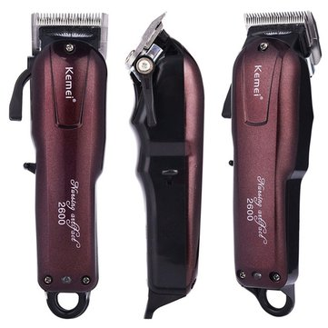 KEMEI KM-2600 Fast Charging Electric Hair Clipper Men