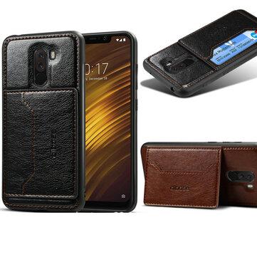 Bakeey 2-in-1 Multifunction With Wallet With Stand PU Leather Protective Case For Xiaomi Pocophone F1