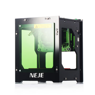 NEJE DK-8-KZ 3000mW 445nm Blue Laser USB Desktop Engraver Engraving Machine Intelligent APP Scanner Windows System