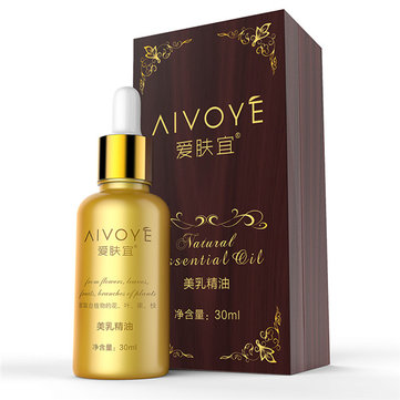 AIVOYE Natural Plant Essence Breast Firming Skincare Essential Oil 30ml