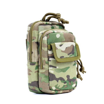ความเชื่อ PRO Camouflage โทรศัพท์มือถือ Molle EDC Tactical Belt Pack Pack กระเป๋าใส่อุปกรณ์เก็บข้อมูลแบบกันน้ำ