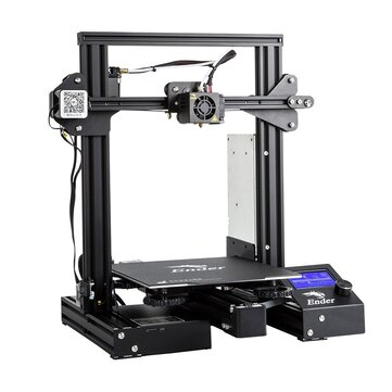 Creality 3D® Ender-3 Pro V-slot Prusa I3 DIY 3D Printer 220x220x250mm Printing Size With Magnetic Removable Platform Sticker/Power Resume Function/Off-line Print/Patent MK10 Extruder/Simple Leveling 3D Printer & Supplies from Electronics on banggood.com
