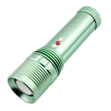 Yupard XPE Q5 SMD LED 600LM Zoomable Brightness Triple Switch Design Rechargeable LED Flashlight