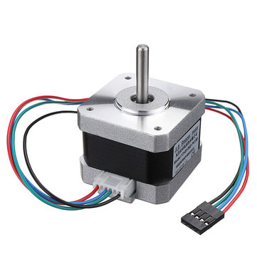 Nema17 42 Stepper Motor 4 Wire 4.8V 1.3 A 500rpm Cable Step Motor for CNC